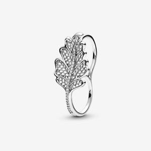 Pandora Oak Leaf Double Ring